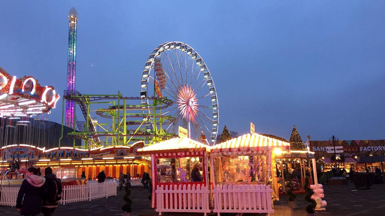 Winter Wonderland in London.