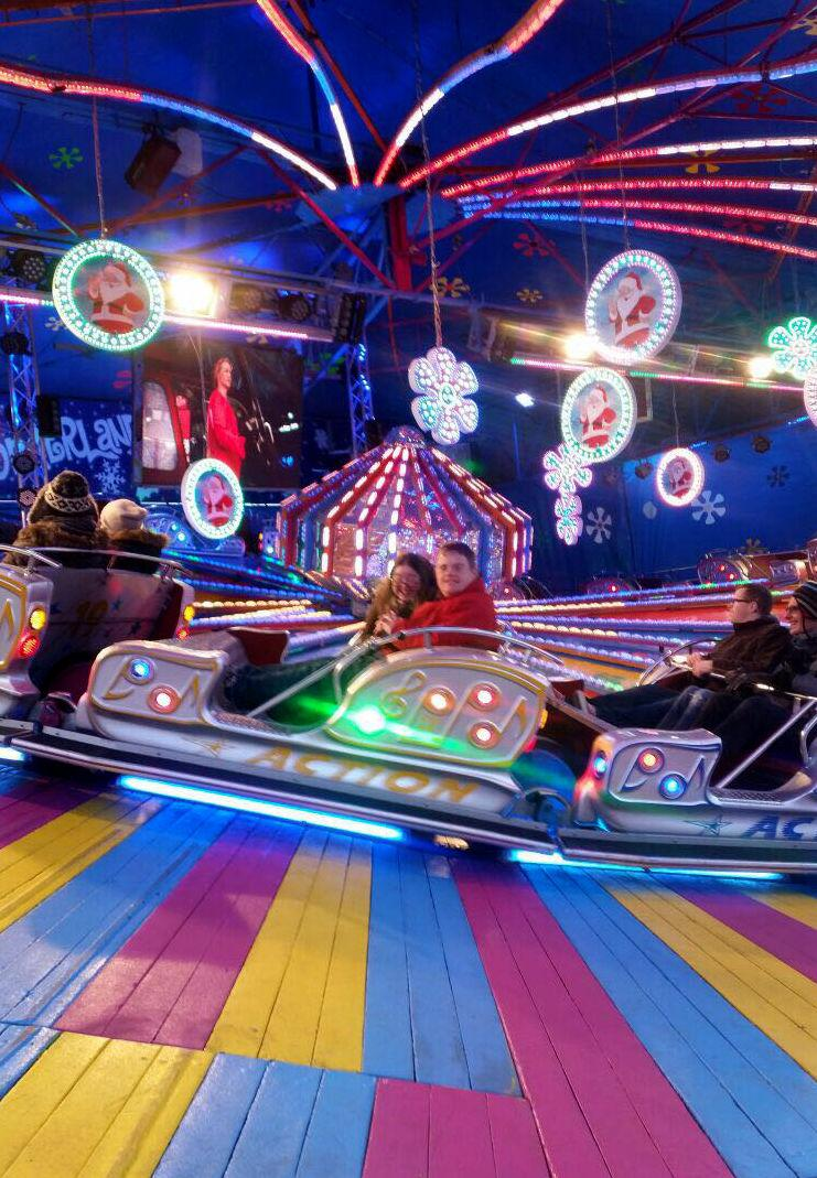Hilly, Paul & the gang on a ride.