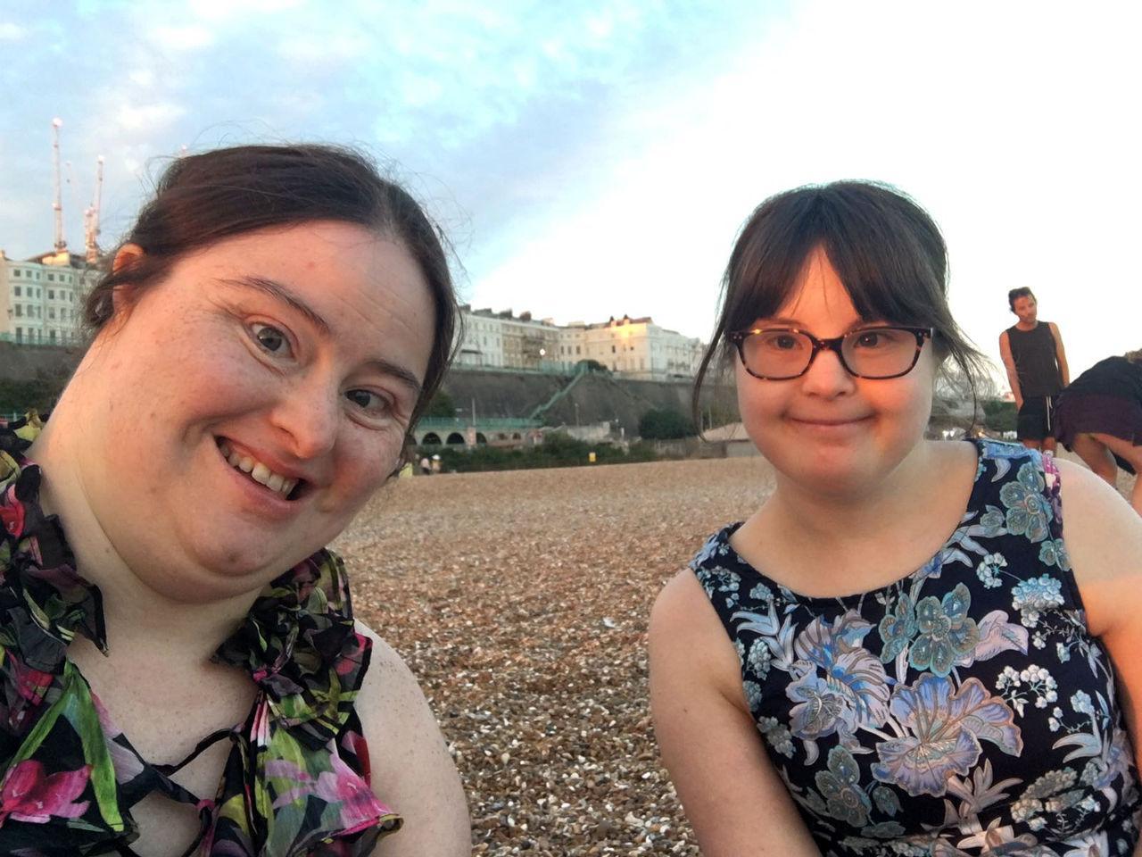 Hilly & Megan selfie