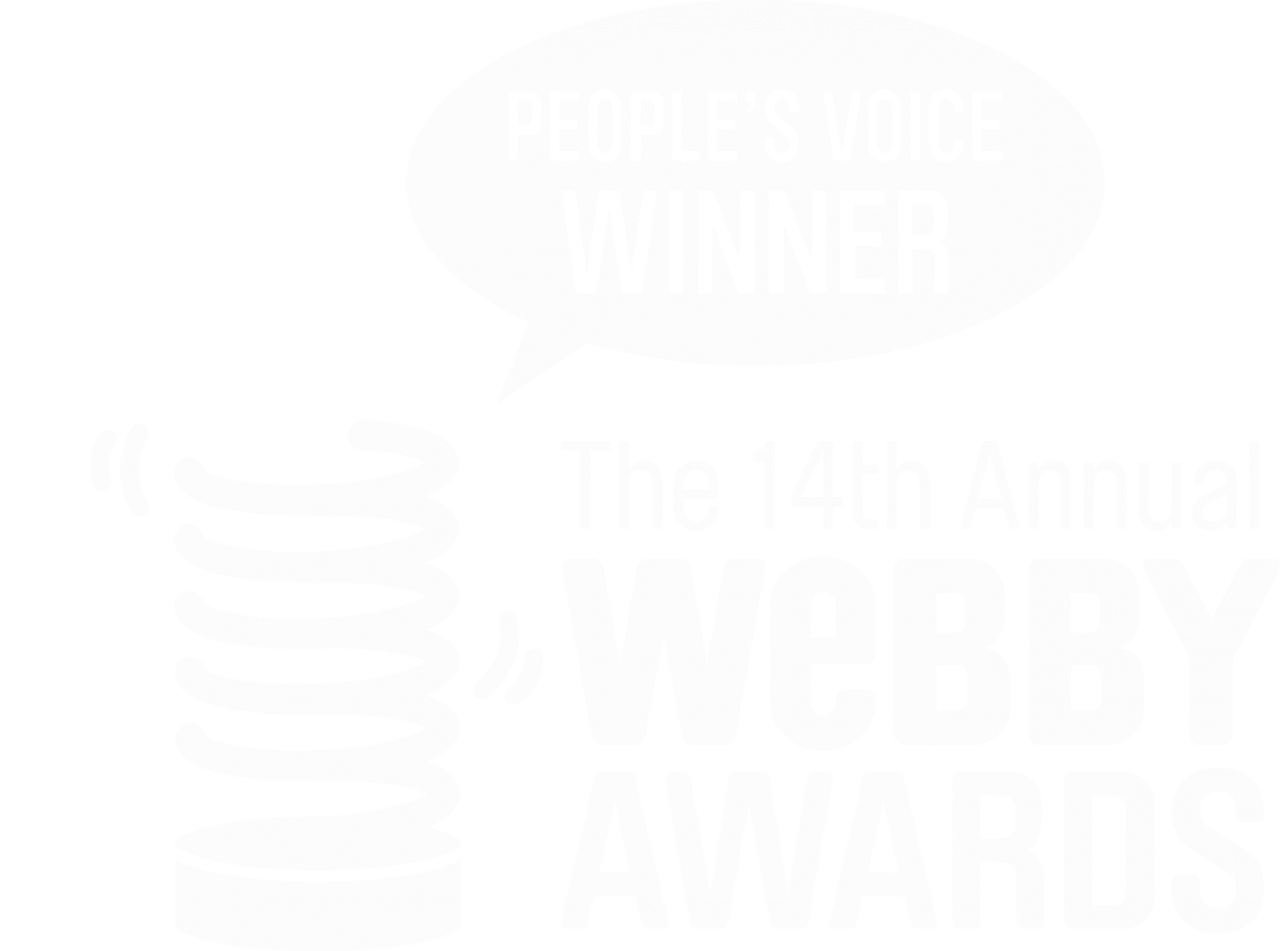 Webby awards people's voice winner.