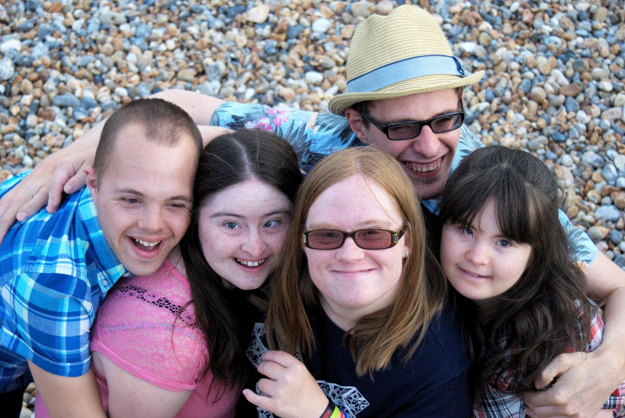 Sam, Hilly, Lucy, Lewis and Megan.