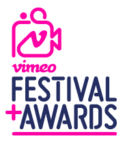 Vimeo Festival and Awards logo.