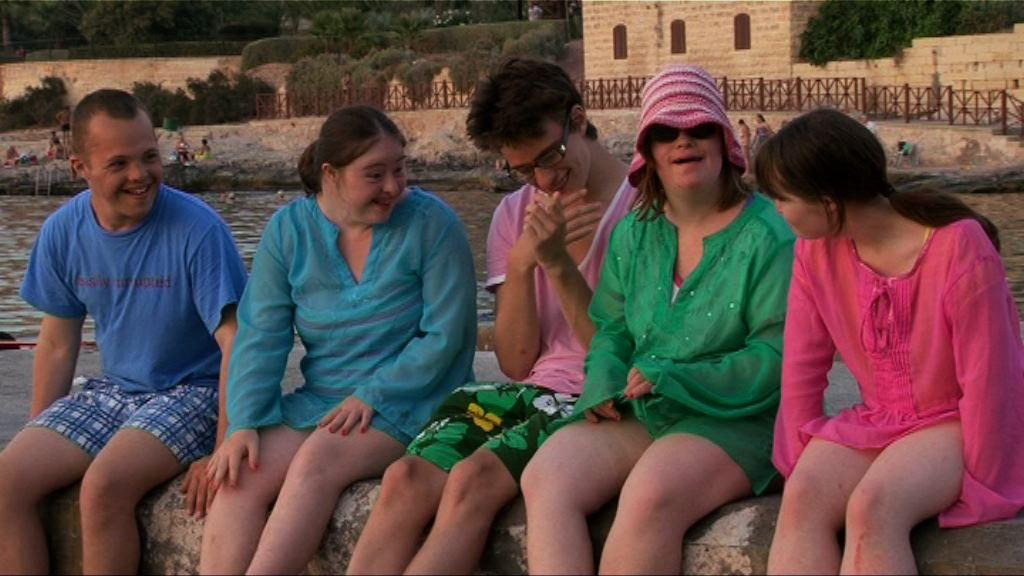 Sam, Hilly, Lewis, Lucy and Megan on hoiday in Malta.